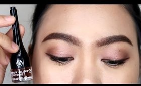 THE BODY SHOP SMOKY 2 IN 1 GEL LINER FOR EYES AND BROWS REVIEW (PHILIPPINES)
