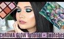ELECTRIC Smokey Eye Tutorial + Sigma Beauty CHROMA GLOW Swatches