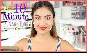 My 10 Minute Summer Makeup Look