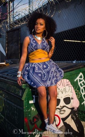 Makeup By Me Fashion Designer : Christina Lowanga  Photographer: Morgan Davis