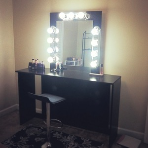 Lighted vanity made by me