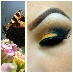 I was inspired by a gorgeous butterfly