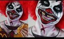 RONALD McDONALD Creepy Clown Halloween Makeup & Face Paint Tutorial | ♡ TheFauxChanel