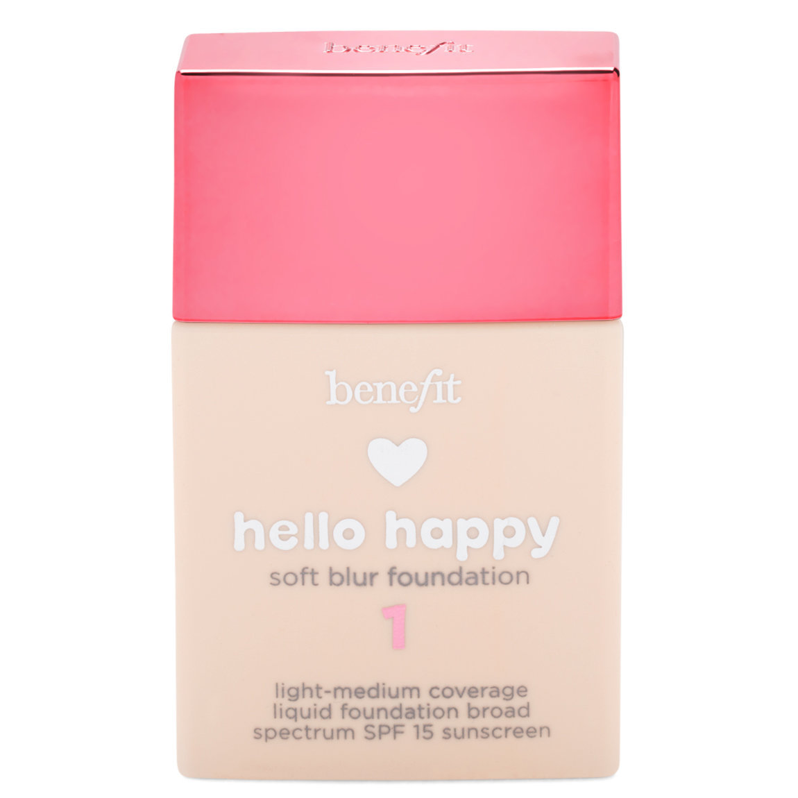 Benefit Cosmetics Hello Happy Soft Blur Foundation 01 Fair - Cool