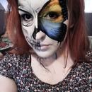 Butterfly/Skull