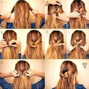 how to get a bow in your hair