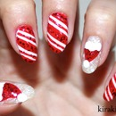Christmas Nails: Candy Canes
