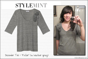 "Check out my Stylemint tee for December, the ""Fuller""!"