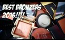 THE BEST BRONZERS/CONTOURING PRODUCTS 2016!!!!