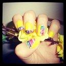#Nails #Yellow #Nice