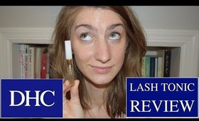 DHC Lash Tonic REVIEW | Before & After