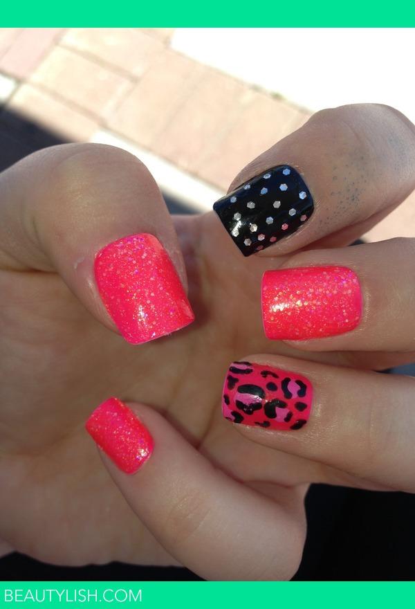 Neon Pink Amp Sparkles Emma S S Photo Beautylish