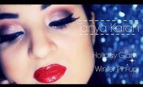 Winter Pin-up - Holiday Glam