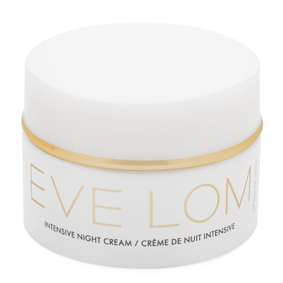 EVE LOM Time Retreat Intensive Night Cream product smear.