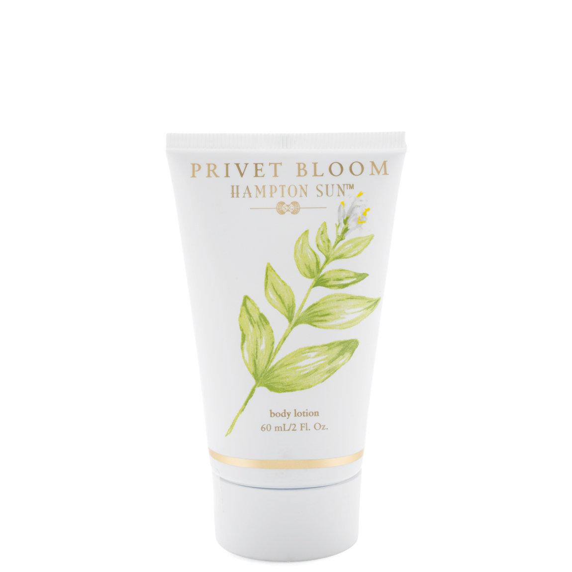 Hampton Sun Privet Bloom Body Lotion 2 oz product swatch.