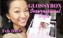 GLOSSYBOX | February - March 2013 + Bloopies!