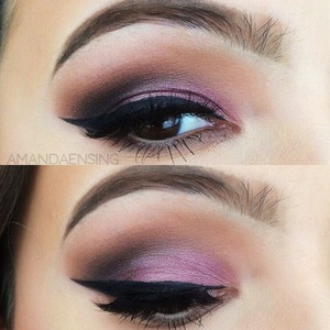 How I fill in my eyebrows is on my YouTube channel! (Amanda Ensing$