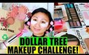 💵 DOLLAR TREE MAKEUP CHALLENGE! 😀