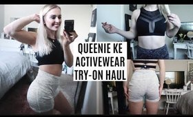 workout clothes try on haul + GIVEAWAY! queenie ke