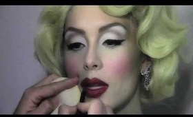Makeup Magic Part One- Transforming Marilyn Monroe w Mathias