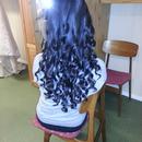 curly, bride hair