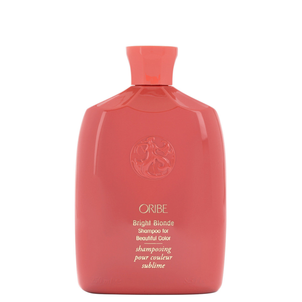 Oribe Bright Blonde Shampoo for Beautiful Color 8.5 fl oz product smear.
