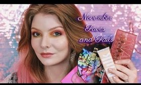 November FAVES & Fails (Meh) 2018