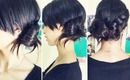 ♥ Braided Side Bun Creative and Simple ♥