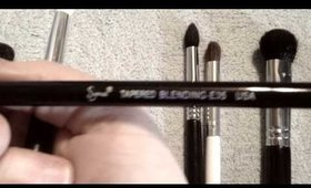 Makeup brush recommendations, in a quickly thrown together format.