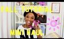 Jumping Into Fall: Makeup, Hair Tutorial and Mini Haul