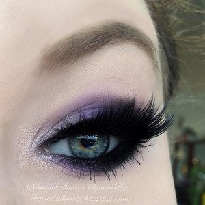 The weather has been uber gloomy and what better way to rise above than bright purples ;)!  Full deets on my blog http://theyeballqueen.blogspot.com/2015/11/plum-smoke-makeup-tutorial.html