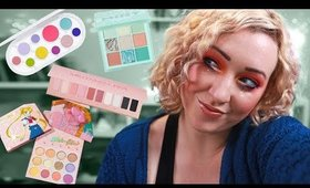 NEW MAKEUP SPRING 2020- PASTELS and a Chick Fil A palette lol