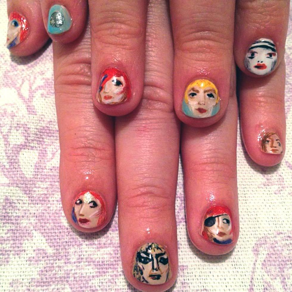 Nail Art Superstar: Claire Beaudreault | Beautylish