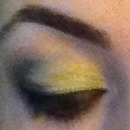 Maybelline eyeshadow pallet and Mac humid