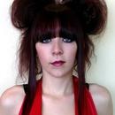 crazy hair and face framing