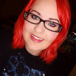 Im still in love with my bright red hair! :)