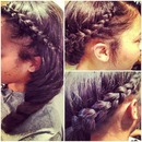 Natural Looking Sewin w/Braids