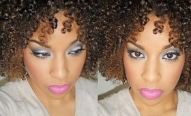❤Beauty By Lee's❤ Dinair airbrush review + Tutorial (smokey airbrushed eyes)