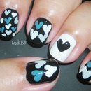 Hearts (inspired by MKmyday nails)
