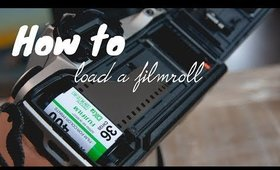 How to load a 35mm into a camera