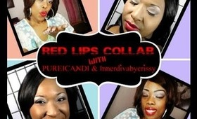 RED Lips Collaboration with Pureicandi and Innerdivabycrissy-COMING SOON