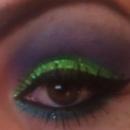 Purple, Green, Blue