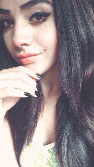 Well I did a DIY septum piercing! & I'm totally loving it! ❤️❤️❤️❤️