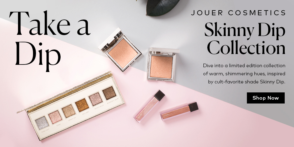 Dive into Jouer Cosmetics' Skinny Dip Collection