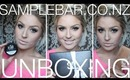 Haul/Review ♡ Samplebar Unboxing Video! ♡ November Box