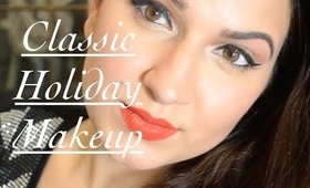 Quick and Easy Holiday Makeup Tutorial