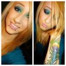 Makeup to match my tattoo ☺️
