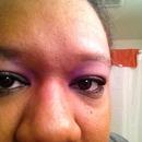 light purple smokey