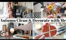 HALLOWEEN & AUTUMN CLEAN AND DECORATE WITH ME UK 2018