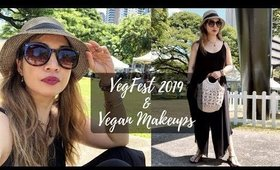 VLOG: VEGANCUTS FALL MAKEUP BOX + VEGFEST OAHU 2019
